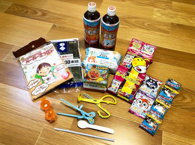 グアム旅行で2歳児の食事用の持ち物