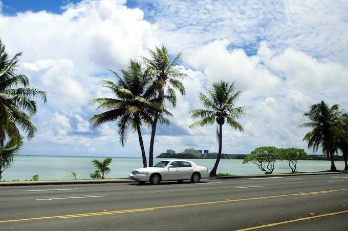 グアムのハガニアドライブ