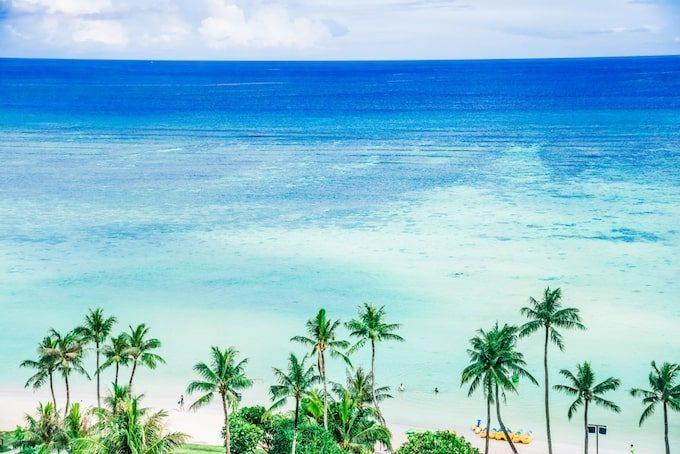 グアムの美しい海